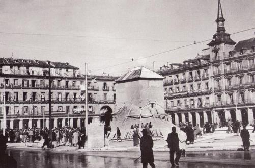 plaza mayor how monuments were protected